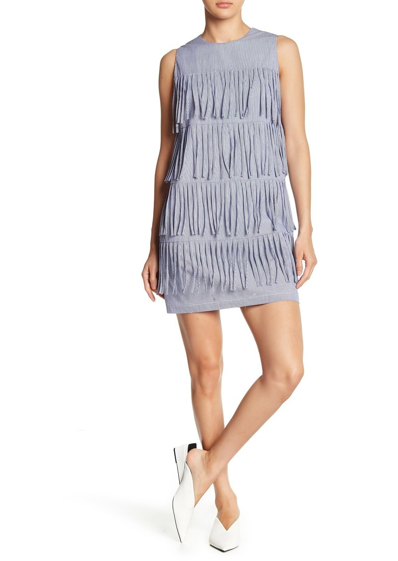 English Factory Sleeveless Fringe Dress