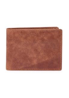 English Laundry Crunch Leather Bi-Fold Wallet