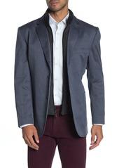 English Laundry Detachable Bib Twill Sport Coat