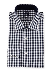 English Laundry Check Woven Dress Shirt