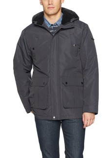 English Laundry Men's Midweight Parka with Faux Sherpa Lining  2XL