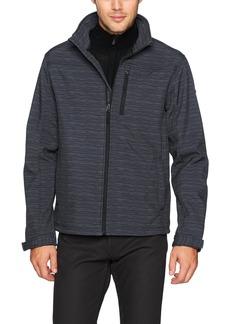 English Laundry Men's Softshell Mock Neck Jacket  XL