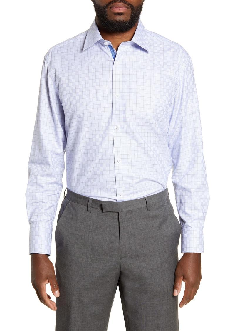 English Laundry Regular Fit Check Dress Shirt