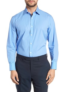 English Laundry Trim Fit Stretch Solid Dress Shirt