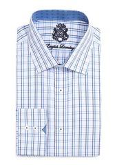 English Laundry Tattersall Check Dress Shirt
