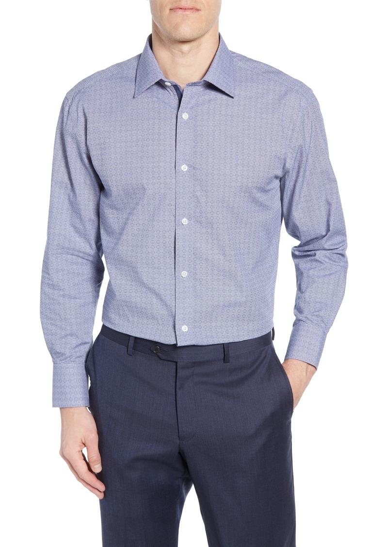 English Laundry Trim Fit Check Dress Shirt