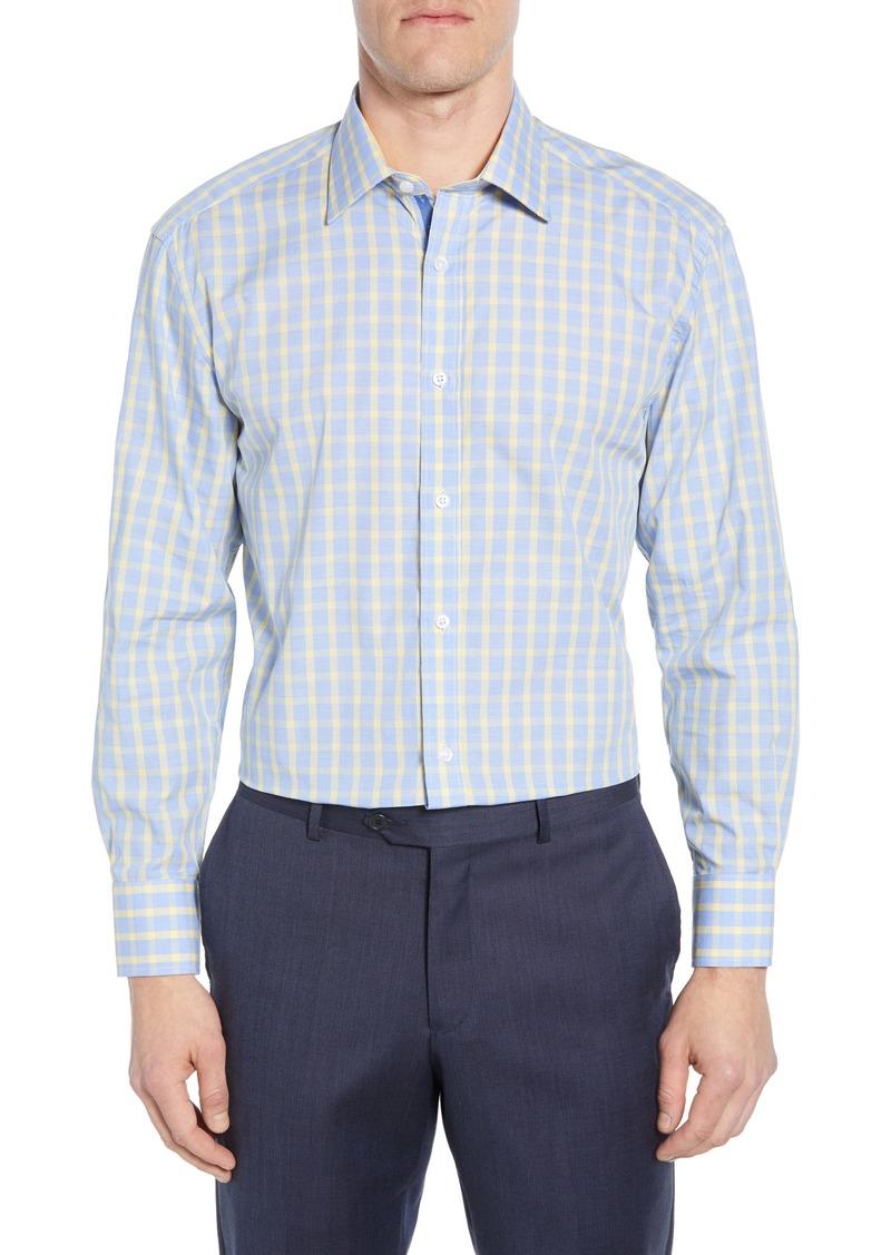 English Laundry Trim Fit Plaid Shirt