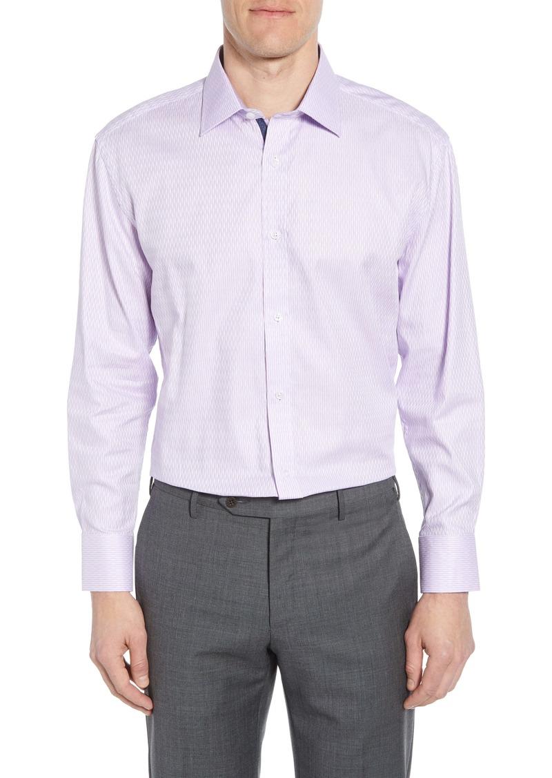 English Laundry Trim Fit Print Dress Shirt