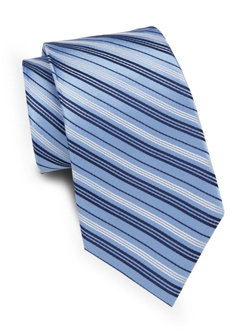 English Laundry Two-Tone Striped Silk Tie