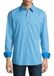 English Laundry Floral-Dot Sport Shirt