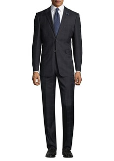 English Laundry Men's Check Two-Piece Suit
