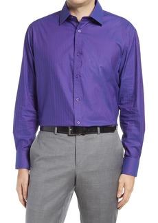 Men's English Laundry Trim Fit Dot Dress Shirt
