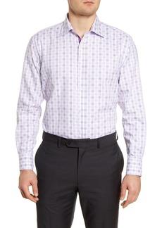 Men's English Laundry Trim Fit Plaid Dress Shirt