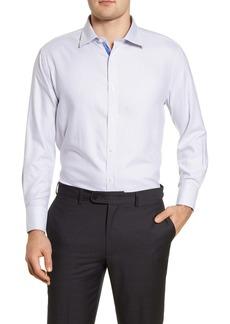 Men's English Laundry Trim Fit Stripe Dress Shirt