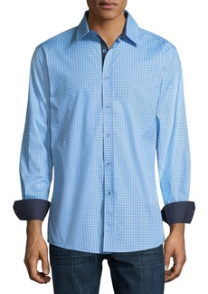 English Laundry Zigzag Sport Shirt
