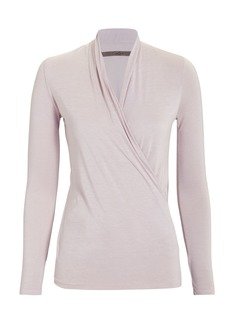 Enza Costa Ballet Crossover Top