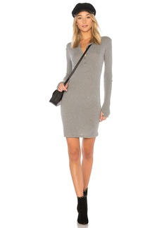 Enza Costa Cashmere Cuffed Mini Dress