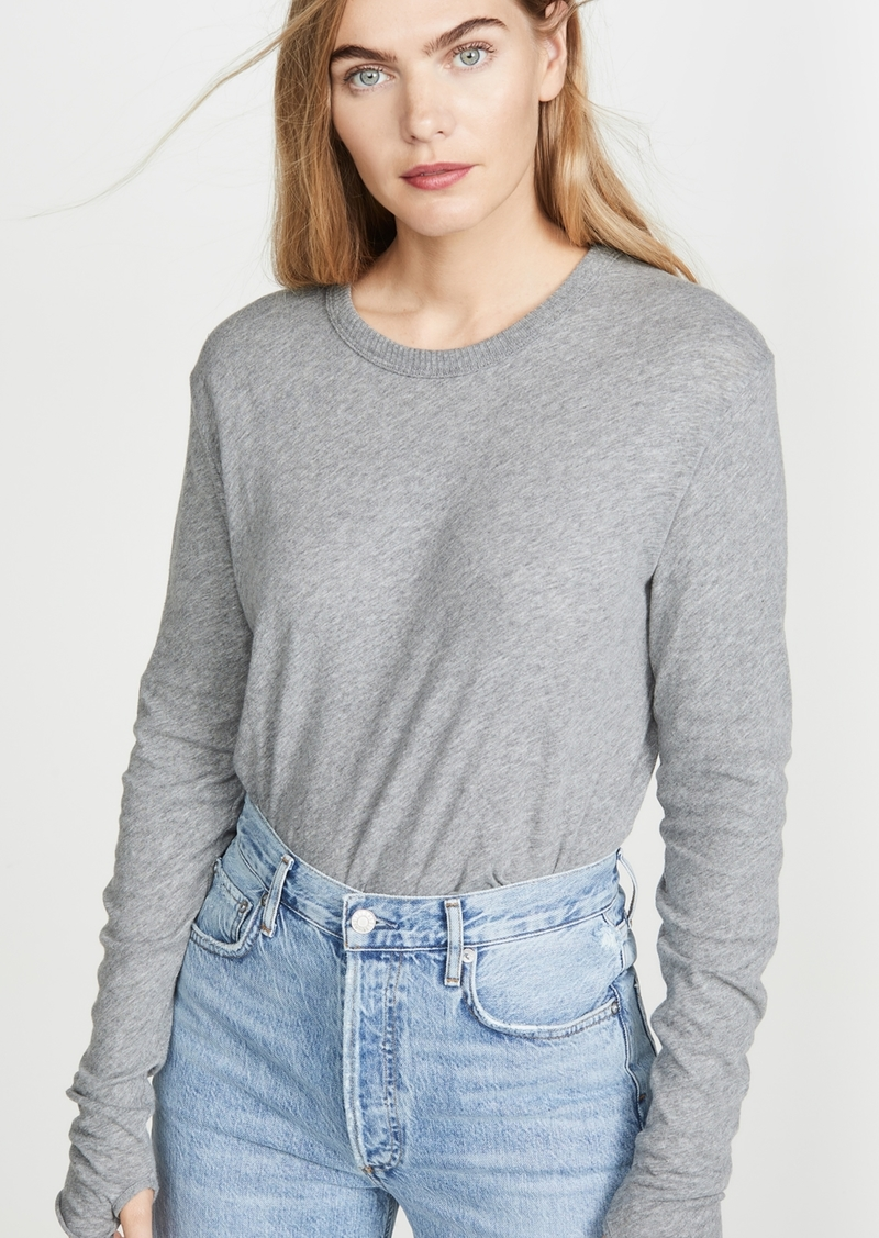 Enza Costa Cashmere Loose Crew Top