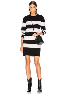 Enza Costa Cashmere Stripe Mini Dress