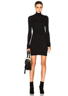 Enza Costa Cashmere Turtleneck Dress
