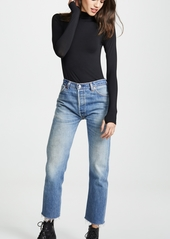 Enza Costa Fitted Long Sleeve Turtleneck