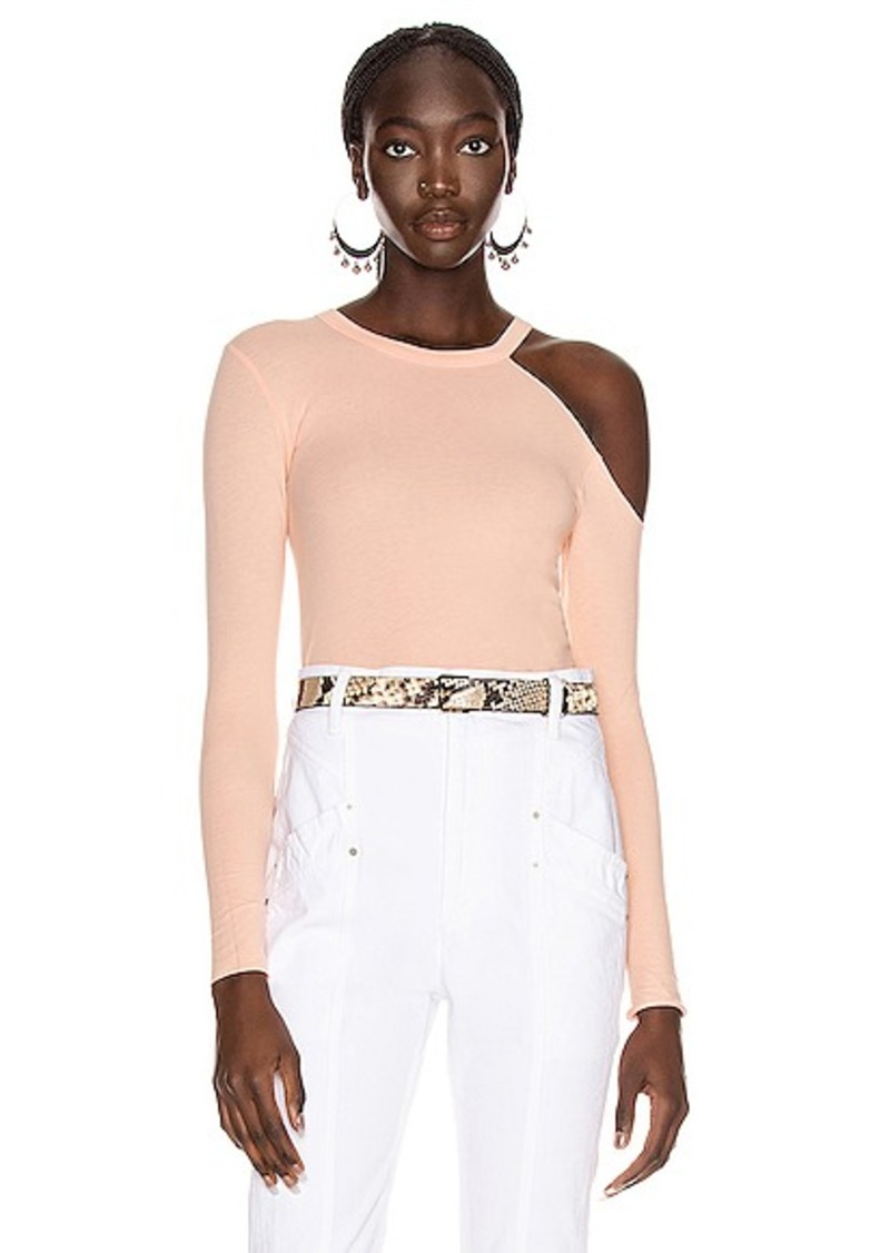 Enza Costa for FWRD Exposed Shoulder Top