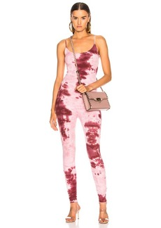 Enza Costa for FWRD Rib Fitted Strappy Jumpsuit