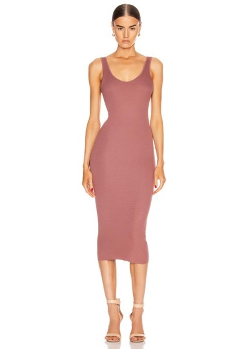 Enza Costa for FWRD Rib Tank Midi Dress