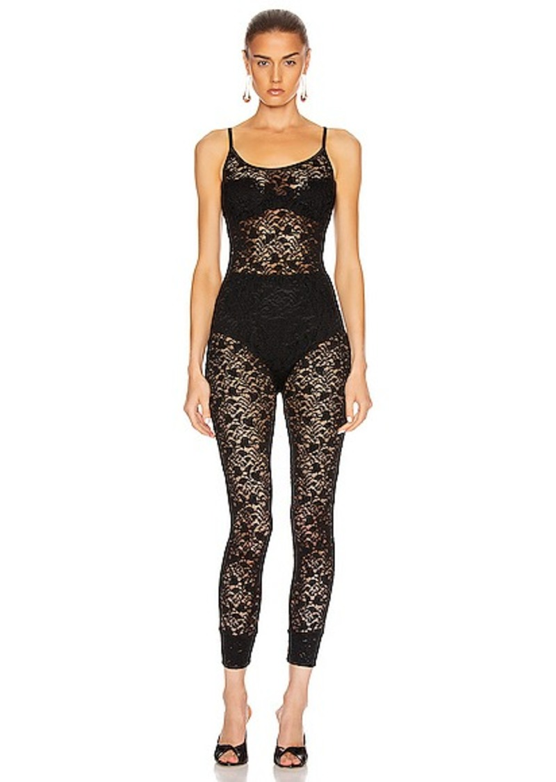 Enza Costa Lace Strappy Jumpsuit