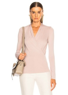Enza Costa Long Sleeve Ballet Top