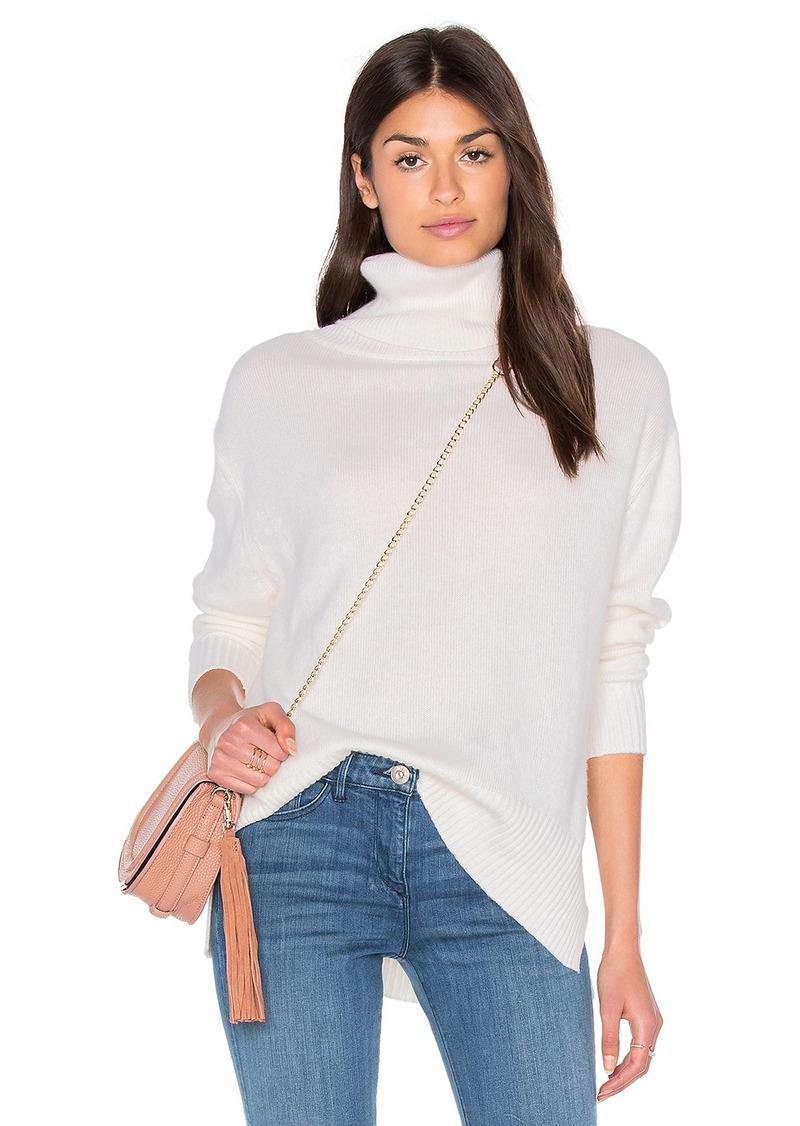Enza Costa Loose Turtleneck Sweater