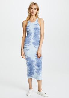 Enza Costa Rib Sheath Tank Midi Dress