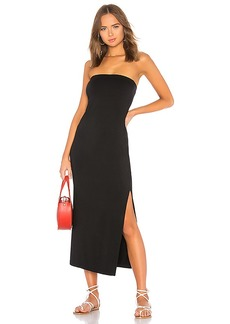 Enza Costa Side Slit Dress