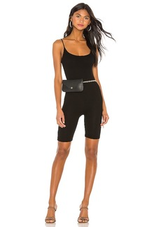 Enza Costa Silk Rib Uni Bike Short