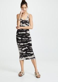 Enza Costa Silky Rib Tank Dress