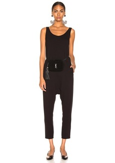 Enza Costa Sleeveless Drop Rise Jumpsuit