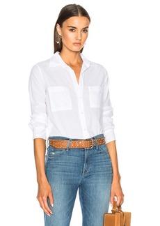 Enza Costa Split Back Shirt