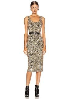 Enza Costa Tank Midi Dress