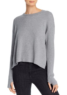Enza Costa Thermal Cropped Sweater