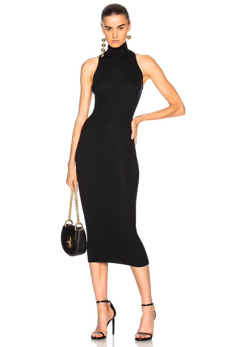 Enza Costa Enza Costa Turtleneck Sleeveless Dress Dresses