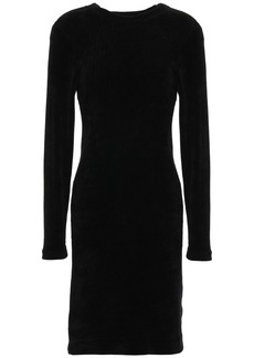Enza Costa Woman Chenille Dress Black
