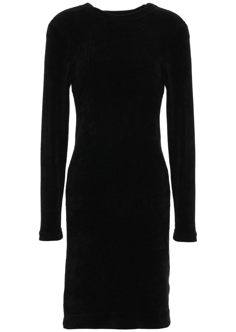 Enza Costa Woman Chenille Dress Black