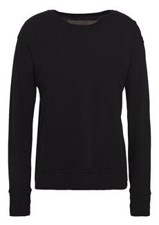 Enza Costa Woman Cotton-jersey Top Black