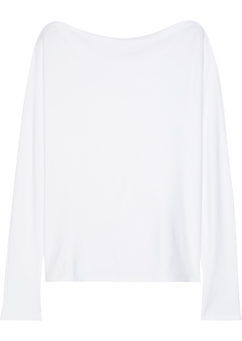 Enza Costa Woman French Terry Top White