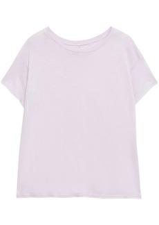 Enza Costa Woman Pima Cotton-jersey T-shirt Lilac