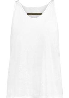 Enza Costa Woman Pima Cotton Tank White