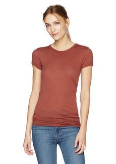 Enza Costa Women's Bold Short Sleeve Crewneck T-Shirt  L