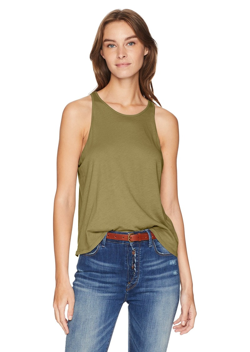 Enza Costa Women's Cropped Sheath Tank Top  S