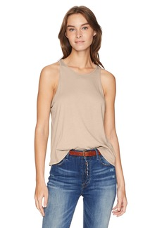 Enza Costa Women's Cropped Sheath Tank Top  XS
