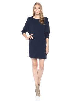 Enza Costa Women's Easy Long Sleeve Raglan Dress  M